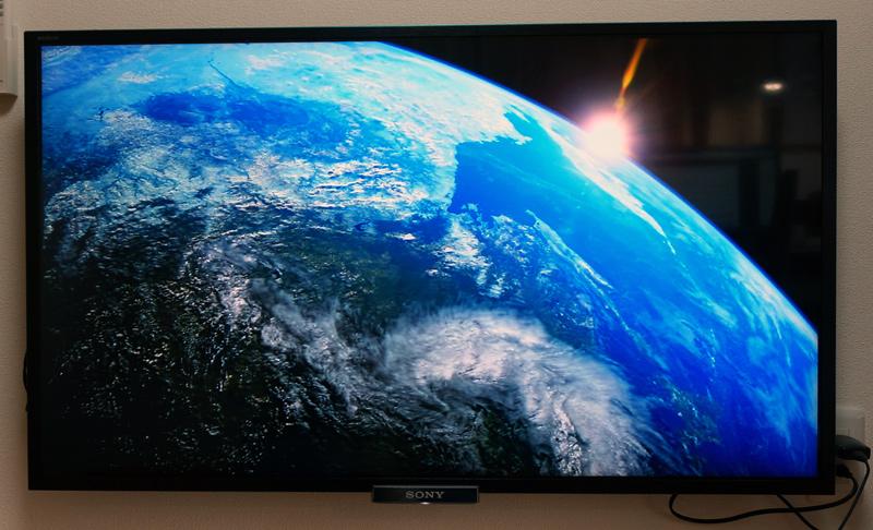 Huluをテレビ視聴
