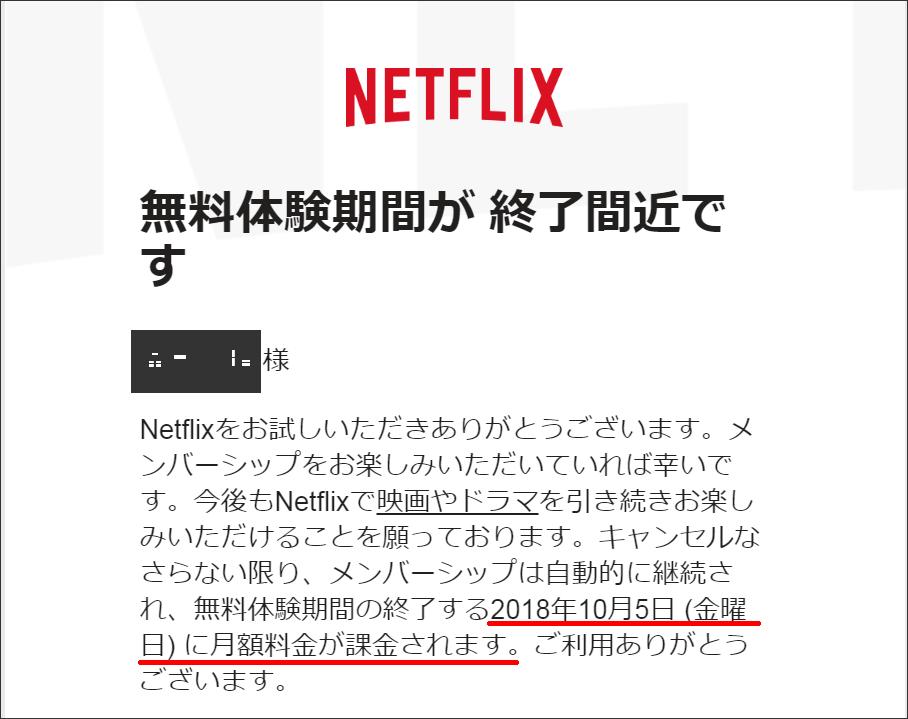 Netflix (ネットフリックス) 無料お試し期間